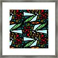 A Fly Of Sorts And Berries Framed Print