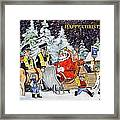 A Happy Christmas Framed Print