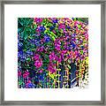 A Journey Thru Color  Framed Print