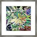 A New Sun Flower Framed Print by Mindy Newman