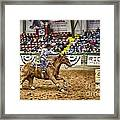 A Night At The Rodeo V27 Framed Print