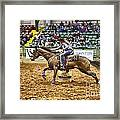 A Night At The Rodeo V28 Framed Print