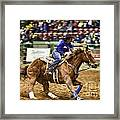 A Night At The Rodeo V30 Framed Print