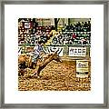 A Night At The Rodeo V35 Framed Print