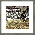 A Night At The Rodeo V36 Framed Print