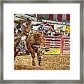 A Night At The Rodeo V5 Framed Print