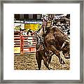 A Night At The Rodeo V6 Framed Print
