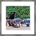 A Norcal River Beach Framed Print
