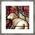 A Pair Of Lambs Framed Print