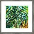 A Popping Pineapple Framed Print
