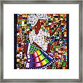 A Quilter's Dream Framed Print by Aisha Lumumba