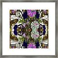 A River Of Flowers  Framed Print