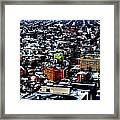 A Snowy City...buffalo Ny 2013 Framed Print