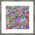 A Splash Of Abstract Framed Print