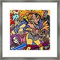 A Style Characters Framed Print