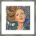 A Work In Progress Framed Print by Phyllis Dunn
