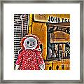Abandoned - Vehicle Recycling Framed Print