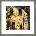 Abandoned Yellow House Framed Print