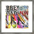 Abbey Road Framed Print by Mo T