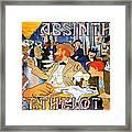 Absinthe Berthelot Framed Print