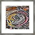 Abstract - Vehicle Recycling Framed Print