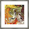 Abstract 127 Framed Print by Carol Sullivan