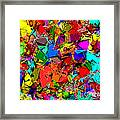 Astratto - Abstract 50 Framed Print
