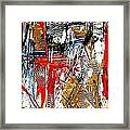Abstract 526-11-13 Marucii Framed Print