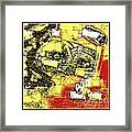 Abstract 889 Framed Print