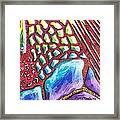 Abstract Animal Print Framed Print