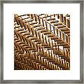 Abstract Architectural Pattern Framed Print