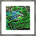 Abstract Brook Bits 56 Framed Print