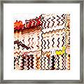 Abstract Buildings Framed Print