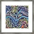 Fluted Giant Clam Framed Print