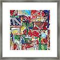 Abstract Collages 1 Framed Print