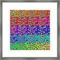 Abstract Colorful Art Print No.318. Framed Print by Drinka Mercep