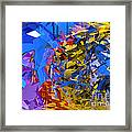 Abstract Curvy 13 Framed Print