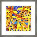 Abstract Curvy 22 Framed Print