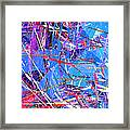 Abstract Curvy 31 Framed Print
