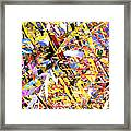 Abstract Curvy 33 Framed Print