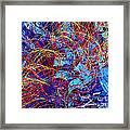 Abstract Curvy 36 Framed Print