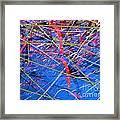 Abstract Curvy 46 Framed Print