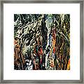 Abstract Framed Print by Dancin Artworks
