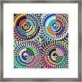 Abstract Digital Art Collage Framed Print