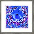 Abstract Eye Framed Print
