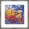 Abstract Forest No. 1 Framed Print