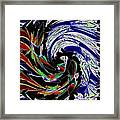 Abstract Fusion 161   Framed Print
