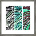 Abstract Fusion 180 Framed Print