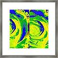 Abstract Fusion 195 Framed Print by Will Borden
