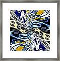 Abstract Fusion 198 Framed Print